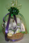 A Spa Day Gift Basket